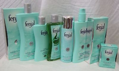 Fenjal Range, Soap, Lotion, Bath Oil, Creme & Bubbles, Shower Oil & Mousse