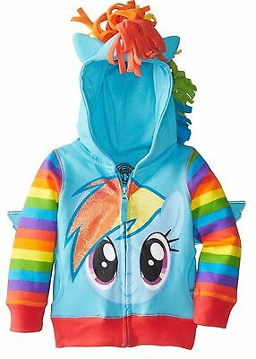 My Little Pony Girls Rainbow Dash Costume Hoodie