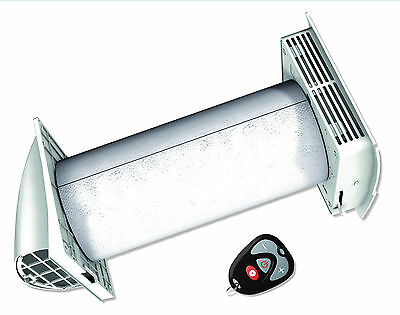 Aerator device decentralized with heat recovery & Remote control,