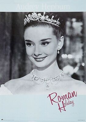 "Roman Holiday Audrey Hepburn 1953 movie POSTER LMJR-01 36x24"" art decor"