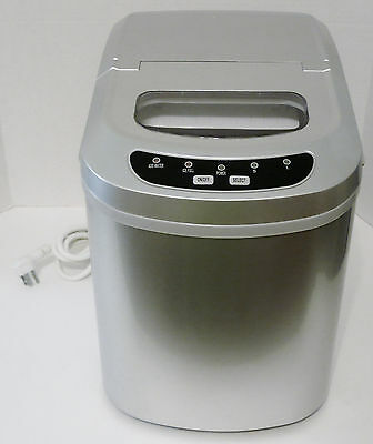 Avanti IM12CIS Portable Countertop Ice Maker -+ Scoop Stainless Steel