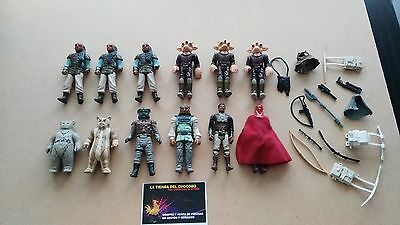 Vintage Star Wars Kenner Lfltd Figures And Weapons Lot Awesome