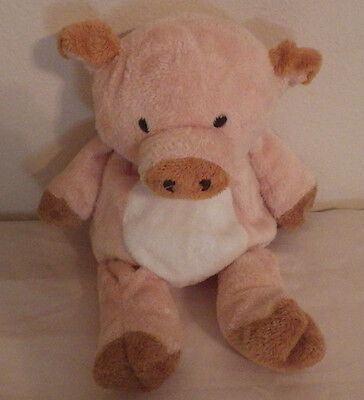 Ty Pluffies Corkscrew Pig No Hang Tag Plush Toy Stuffed Animal