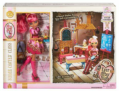 Ever After High Sugar Coated Class Playset With Ginger Breadhouse Fashion Doll
