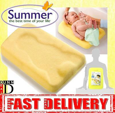Summer Infant Newborn Comfy Bath Floating Baby Safety Support Cushion Sponge Mat