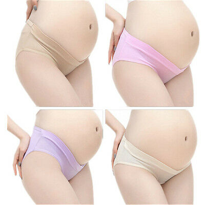 Underwear Low Waist Panties Briefs Lingerie Cozy Pregnancy New Pregnant Mother's