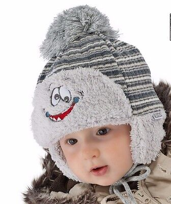 Boys Baby Boy Winter Autumn Warm Hat  9 12 18 24 months 2-3 years
