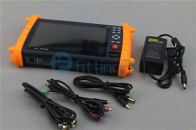 "7"" Touch Screen Onvif IP HD-AHD/TVI/CVI Analog CCTV Camera Tester IPC9600SATC"