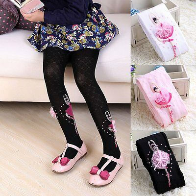 New Toddler Baby Kids Girl Cotton Tights Socks Stockings Pants Hosiery Pantyhose