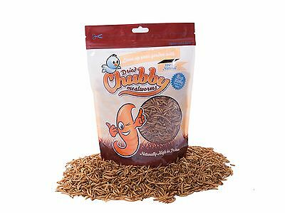 226g Dried Chubby Mealworms High Protein Wild Bird Chicken Food Treat