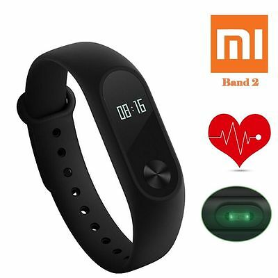 Original Xiaomi Mi Band 2 OLED Smart Wristband Bracelet Heart Rate Monitor Watch
