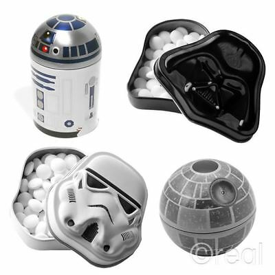 New Star Wars R2-D2 Death Star Darth Vader Or Stormtrooper Tinned Mints Official