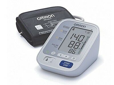 Omron Healthcare M3 Upper Arm Digital Blood Pressure Monitor Heart Beat High