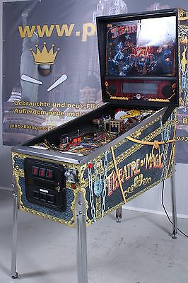 Theatre of Magic Flipper Pinball von Bally F0770