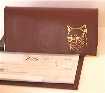 Brussels Griffon (Smooth Coat)- Checkbook Cover-New