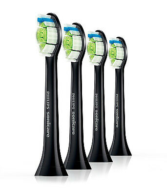 Philips Sonicare STANDARD 4x DiamondClean Black Edition Brush Heads [HX6064/33]