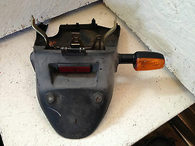 2006 Sym Jet Basix Euro X Rear Number Plate Holder Panel Mudguard & Indicator