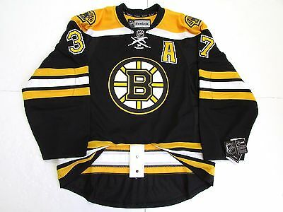 timeless design c5d25 ce2ee PATRICE BERGERON BOSTON Bruins Authentic Away Reebok Edge ...