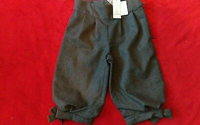NWT Jacadi Paris Wool dungarees,pants 23 month (2T3T)