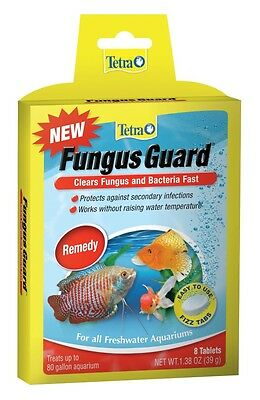 Tetra Fungus Guard Fizz Tabs 8 tablets Clears fungus & Bacteria fast