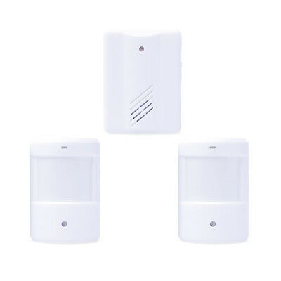Wireless Door Bell Alarm >100M Range Digital Door IR Infrared Monitor Sensor