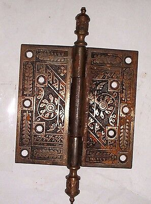 Antique Eastlake Door Hinges 5 x 5  #62