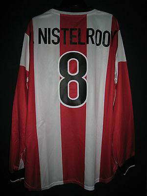PSV Eindhoven 1998-00 Eredivisie Home Match Player-issue Shirt VAN NISTELROOY