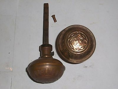 Antique Victorian Era Eastlake Door Knob set #31