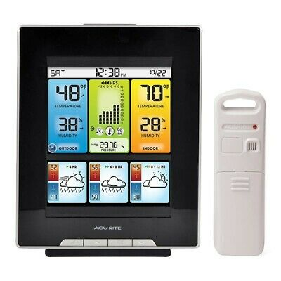 Acurite Color Weather Station with Morning, Noon & Night Forecast 02007