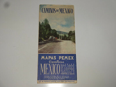 1930's Road Maps of Mexico
