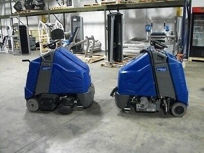 Windsor Chariot Ride-On Vacuum and Extractor ready to go to work
