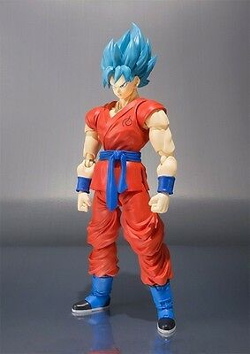 In Box Super Saiyan God SS Son Goku Gokou (Dragon Ball Z) Loose Figure Toy