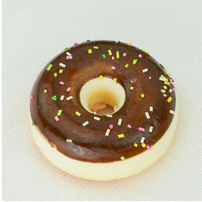 1pc Jumbo 5 cm Donuts Squishy Bread Cream Scented Toys Cell Phone Charms Straps