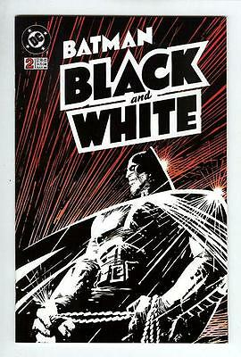 BATMAN BLACK and WHITE 2  (NM-) FRANK MILLER COVER (FREE SHIPPING ) *