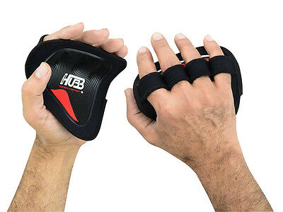Weight Lifting Grip Pads Gym Fitness Strength Training Body Building Gym Grips