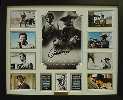 Clint Eastwood Limited Edition Signatures Framed Memorabilia (w)