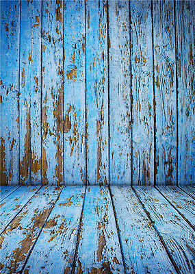 Photography Backdrops Wooden Floor Photo Props for Studio Background Vinyl 5x7FT