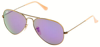 """RAY BAN RB 3025 167/1M Gr.55  AVIATOR """"LIMITED EDITION"""" SONNENBRILLE NEU!"""
