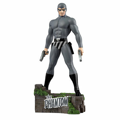 "The Phantom - Ghost Who Walks 12"" Statue - Grey Suit Variant"