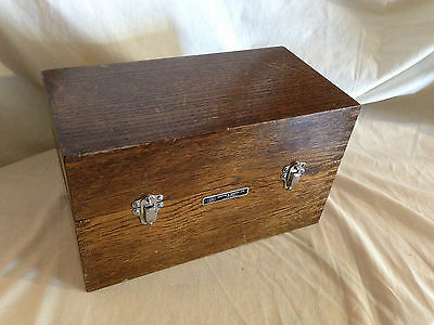 Beautiful Antique Wooden Cased Resistance Box by Griffin & George
