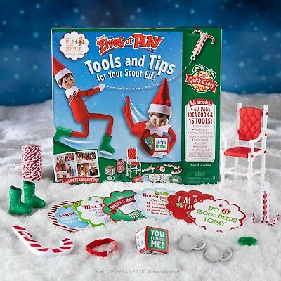 OFFICIAL NEW 2017 The Elf on the Shelf® Scout Elves at Play