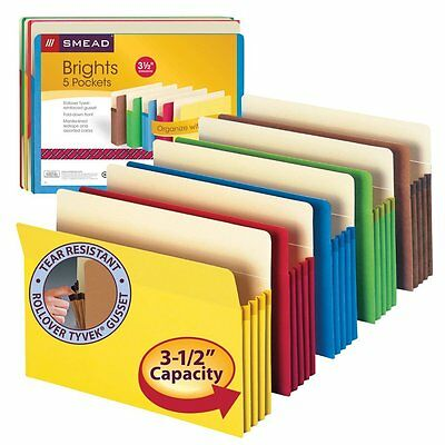 Accordion File Folder Office Organization and Storage Expandable Letter Size New