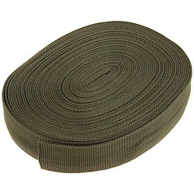 Tactical 10M Nylon Military Strap Webbing Belt Silent Sling For Rifle Army Green