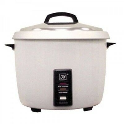 Thunder Group 30 Cup Rice Cooker & Warmer. Nsf