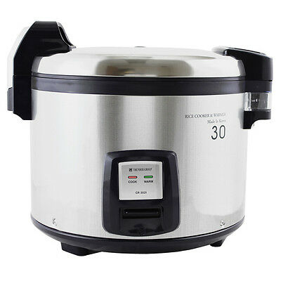 THUNDER GROUP 30 Cup Electric Rice Cooker-Warmer w/ Digital Contols