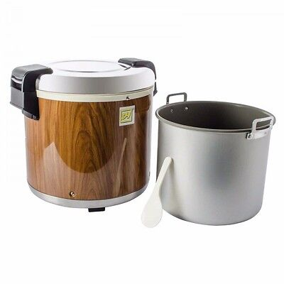Thunder Group 50 Cup Wood Grain Rice Warmer