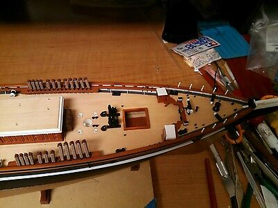 1/96 Cutty Sark Wood Deck for Revell by Scaledecks.com
