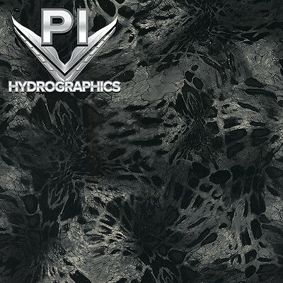 Hydrographic Film Hydro Dipping Transfer Hydro Dip Prym1 Black Out Camo Rc-411