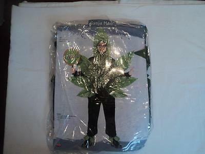 New Adult Ganjaman Costume Legalize One Size Fits Most Halloween (Bf)