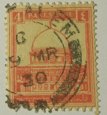 Palestine   Scott #83  Cat Value  At $4.00 Used  ....worldwide Stamps